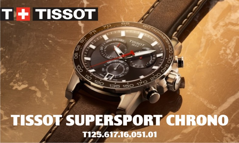 Новая коллекция Tissot Supersport Chrono